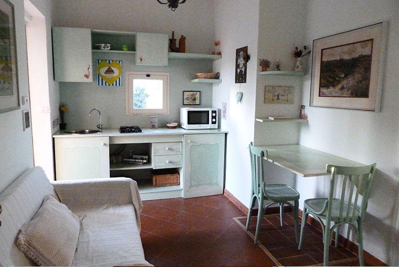Angolo cottura per monolocale stunning monolocale per o persone con soggiorno con doppio divano - Divano letto per monolocale ...